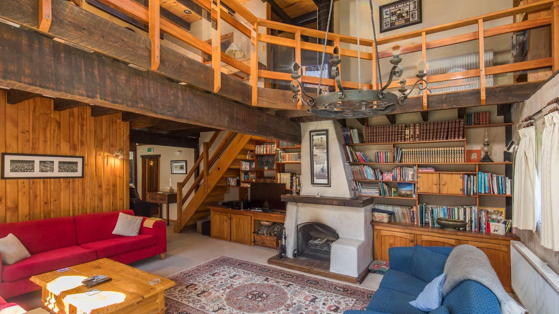 Wanaka Stonehouse Lodge - Fire