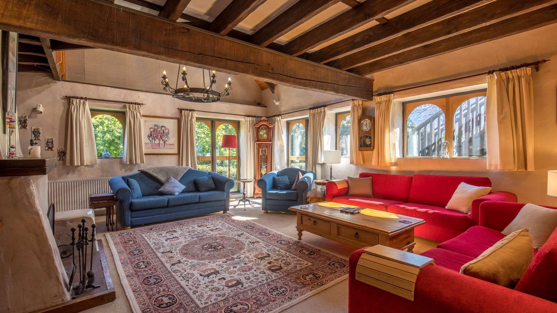 Wanaka Stonehouse Lodge - Lounge